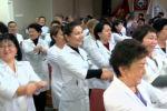 В столичном центре семейной медицины №6 провели танцевальный флешмоб.