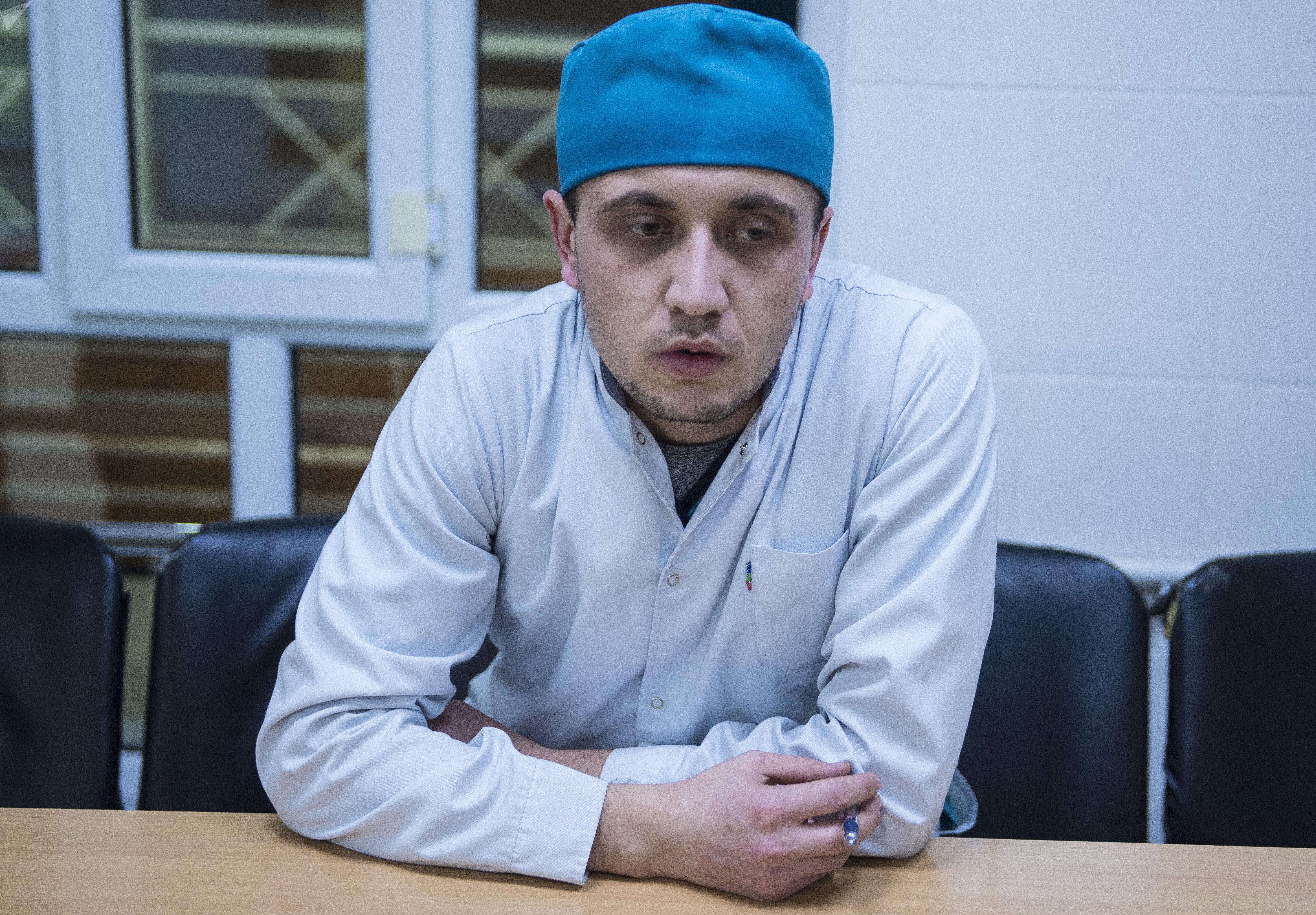 Ординатор Бишкекского научно-исследовательского центра травматологии и ортопедии