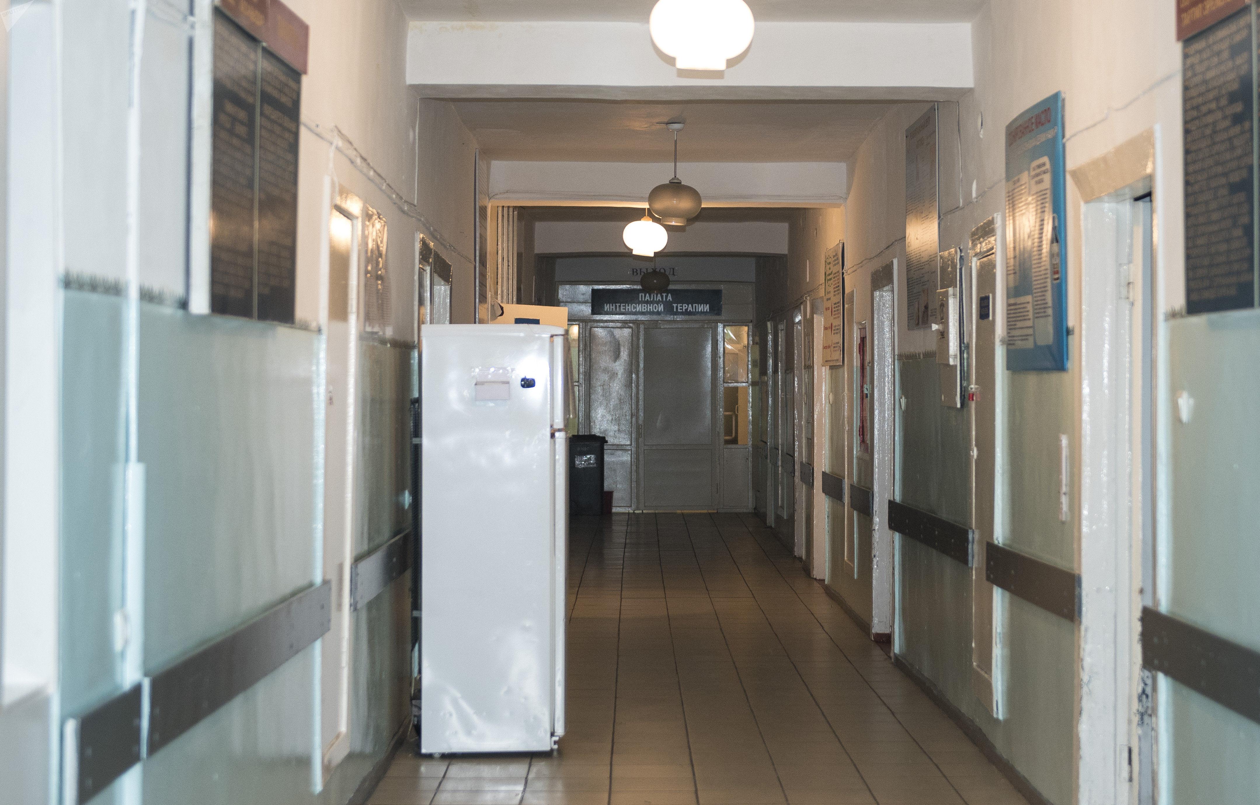 Коридор Бишкекского научно-исследовательского центра травматологии и ортопедии