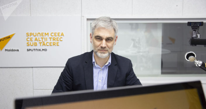 Президент блокчейн-ассоциации Молдовы и член экономического совета при президенте РМ Вячеслав Кунев. Архивное фото