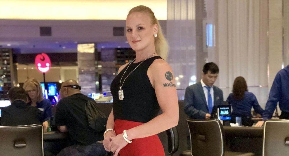 Кыргызстандык UFC чемпиону Валентина Шевченко. Архивдик сүрөт