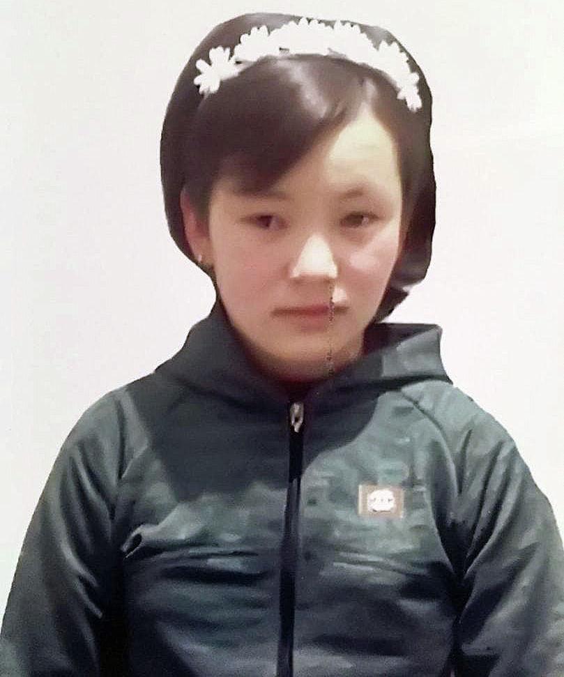 В Чуйской области пропала 13-летняя Анаркуль Жоошбаева