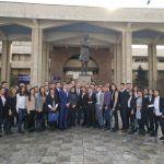 Министр сфотографировался со студентами и преподавателями КРСУ