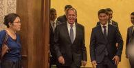 Официальный визит министр иностранных дел России Сергея Лаврова в КР