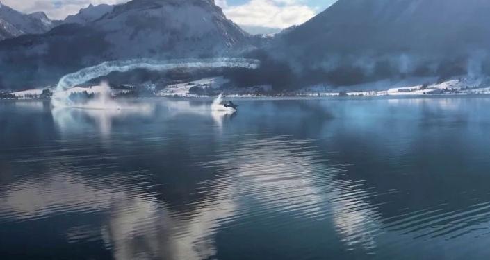 В Австрии во время авиашоу потерпел крушение легкомоторный Staudacher S-600, осуществлявший демонстрационный полет над озером.