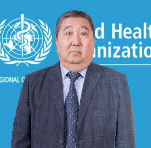 Национальный сотрудник по неинфекционным заболеваниям в страновом офисе Всемирной организации здравоохранения в Кыргызстане Осконбек Молдокулов