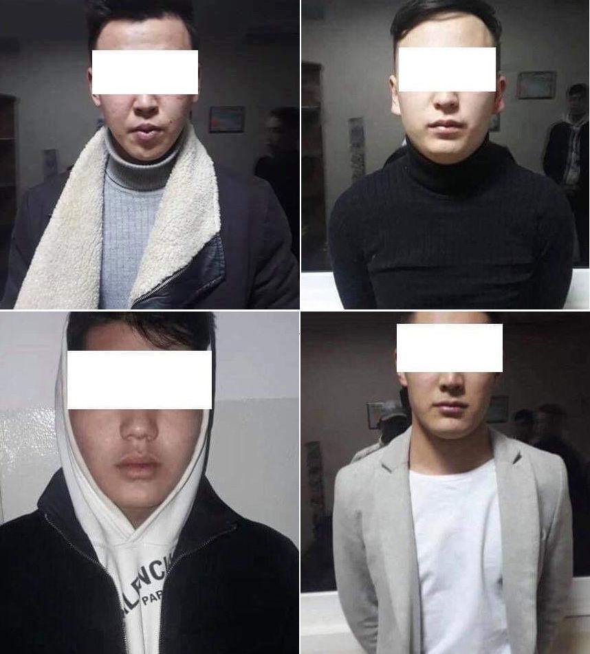 Сотрудники УВД Первомайского района задержали четверых молодых людей, подозреваемых в грабежах,