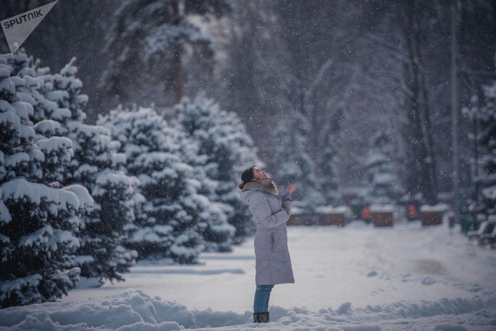 6-февралда эртең менен Бишкек өзгөчө карга оронду