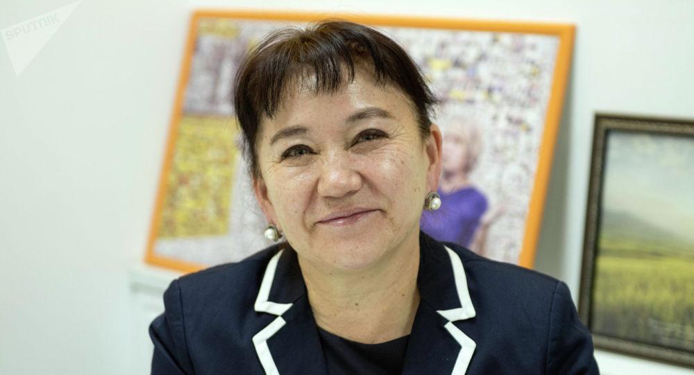 Депутат Жогорку Кенеша от фракции СДПК Айнуру Алтыбаева