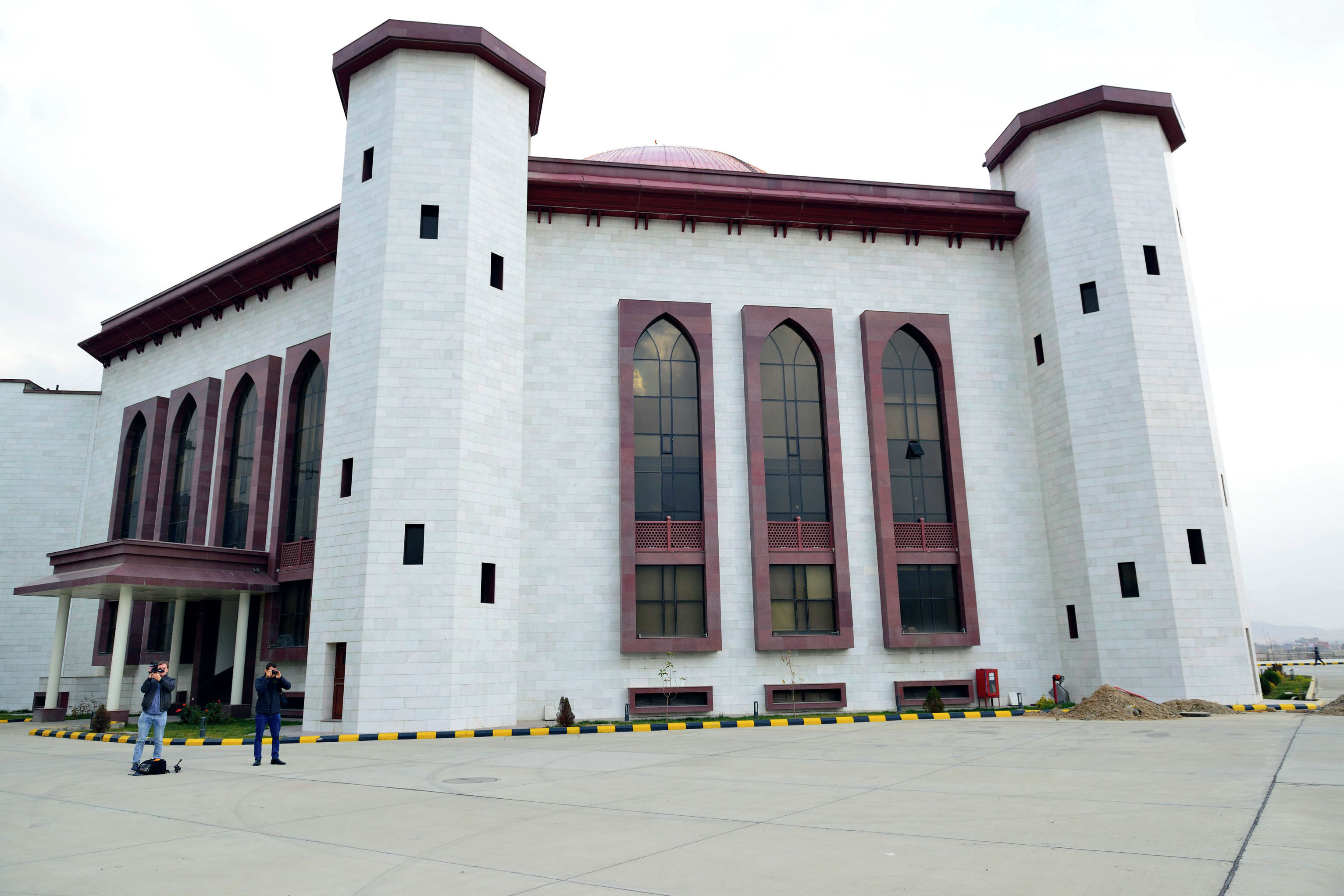 Здание Парламента ИРА. Кабул