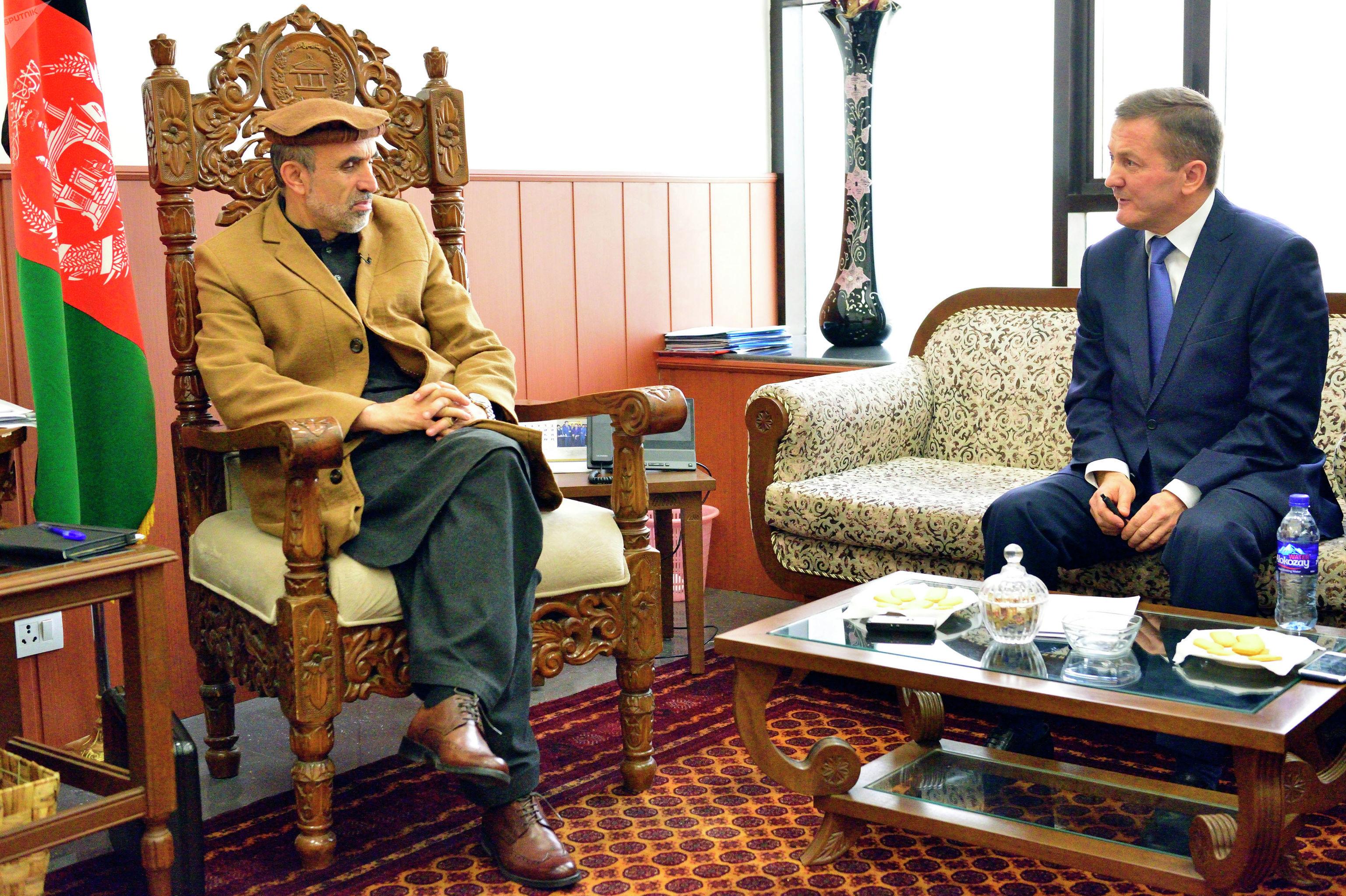 Интервью с сенатором Мохаммадом Изидьяром. Фото