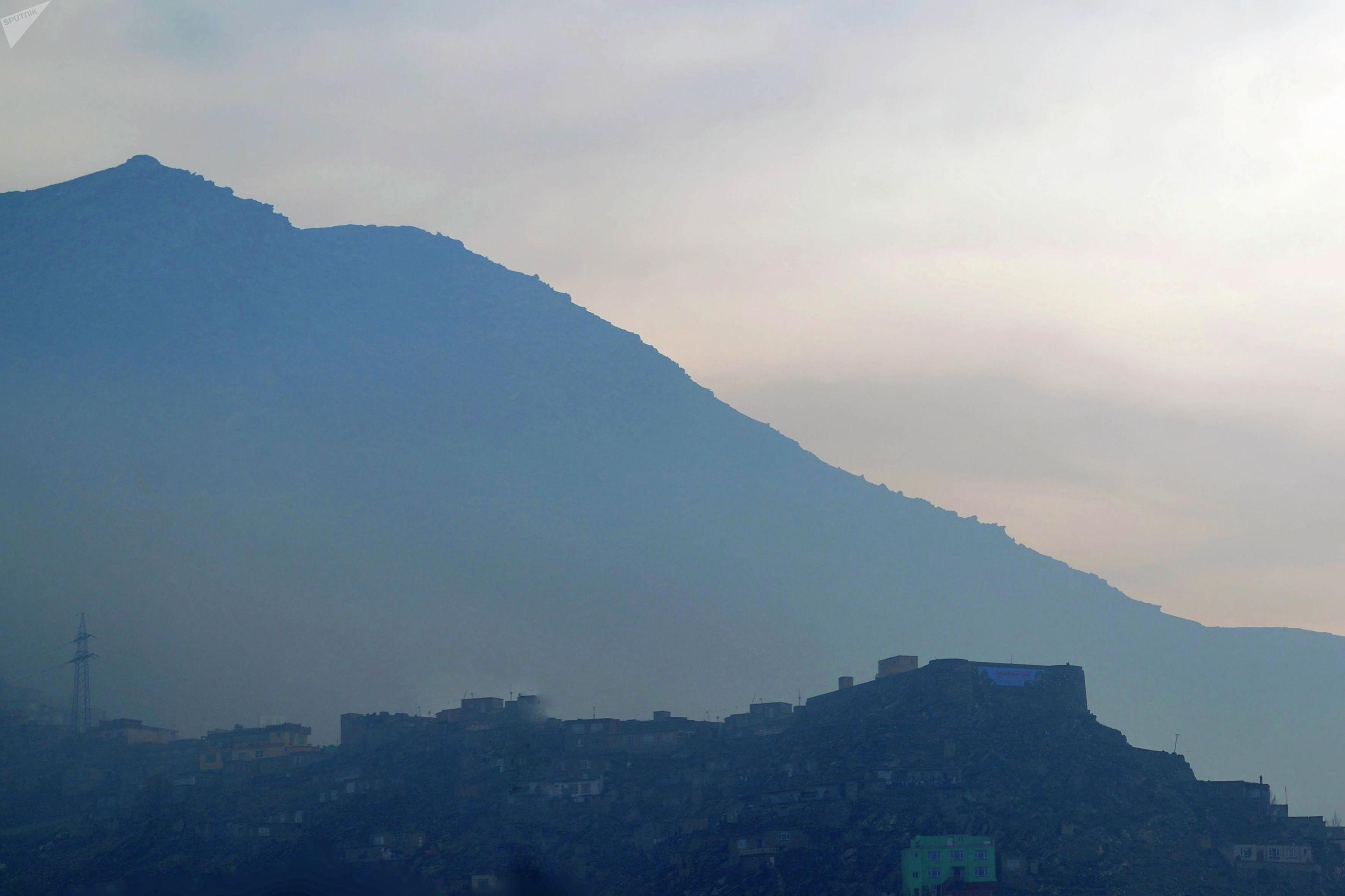 Вид на горы в Кабуле