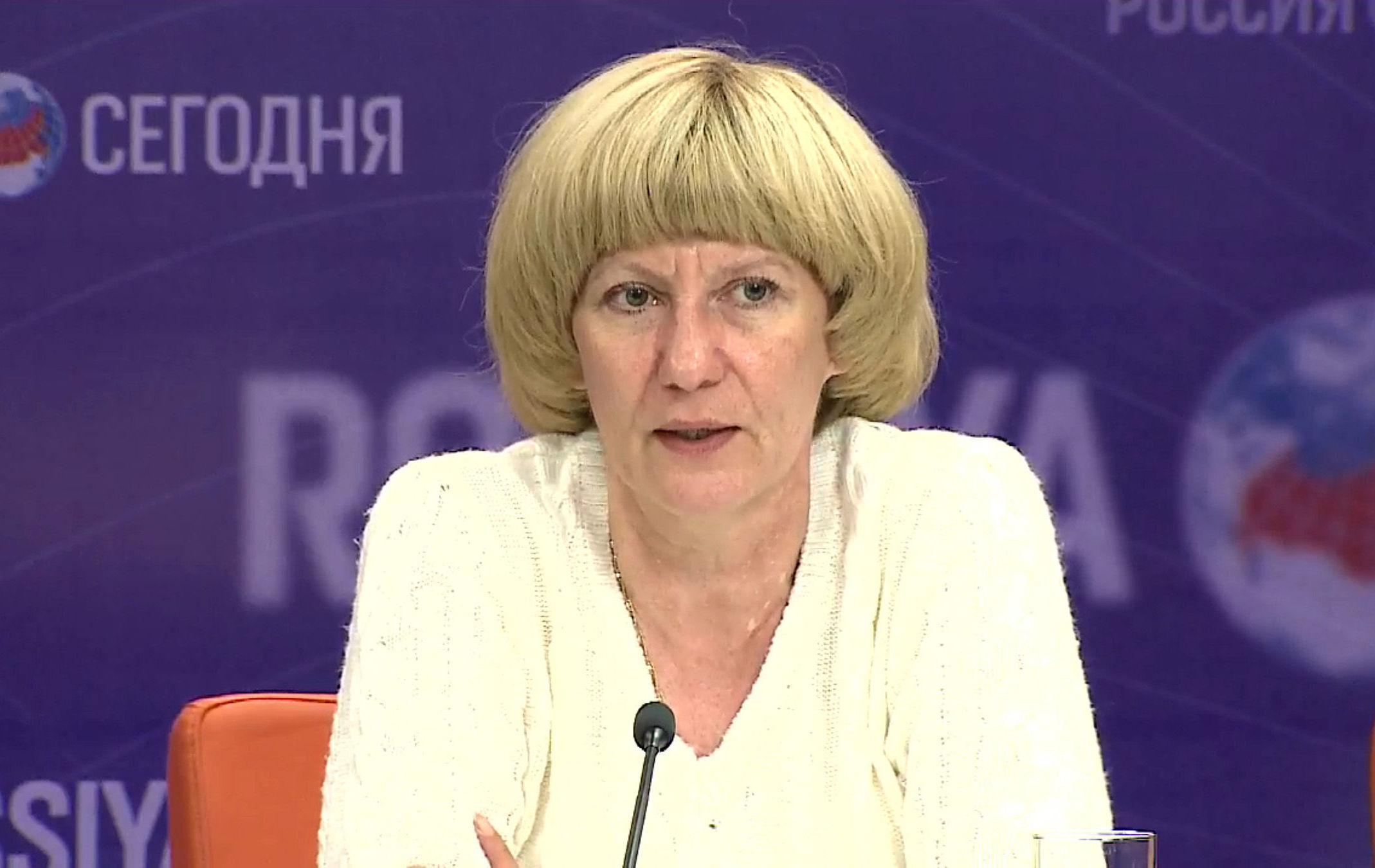 Председатель Научно-консультативного совета при Антитеррористическом центре государств-участников СНГ Марианна Кочубей