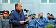 Ички иштер министрлигинин эски жетекчиси Мелис Турганбаевдин архивдик сүрөтү