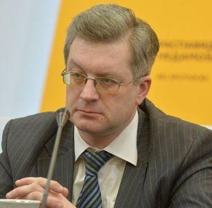 Политический эксперт Павел Потапейко в студии Sputnik Беларусь