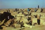 Раскопки совместной советско-афганской археологической экспедиции.