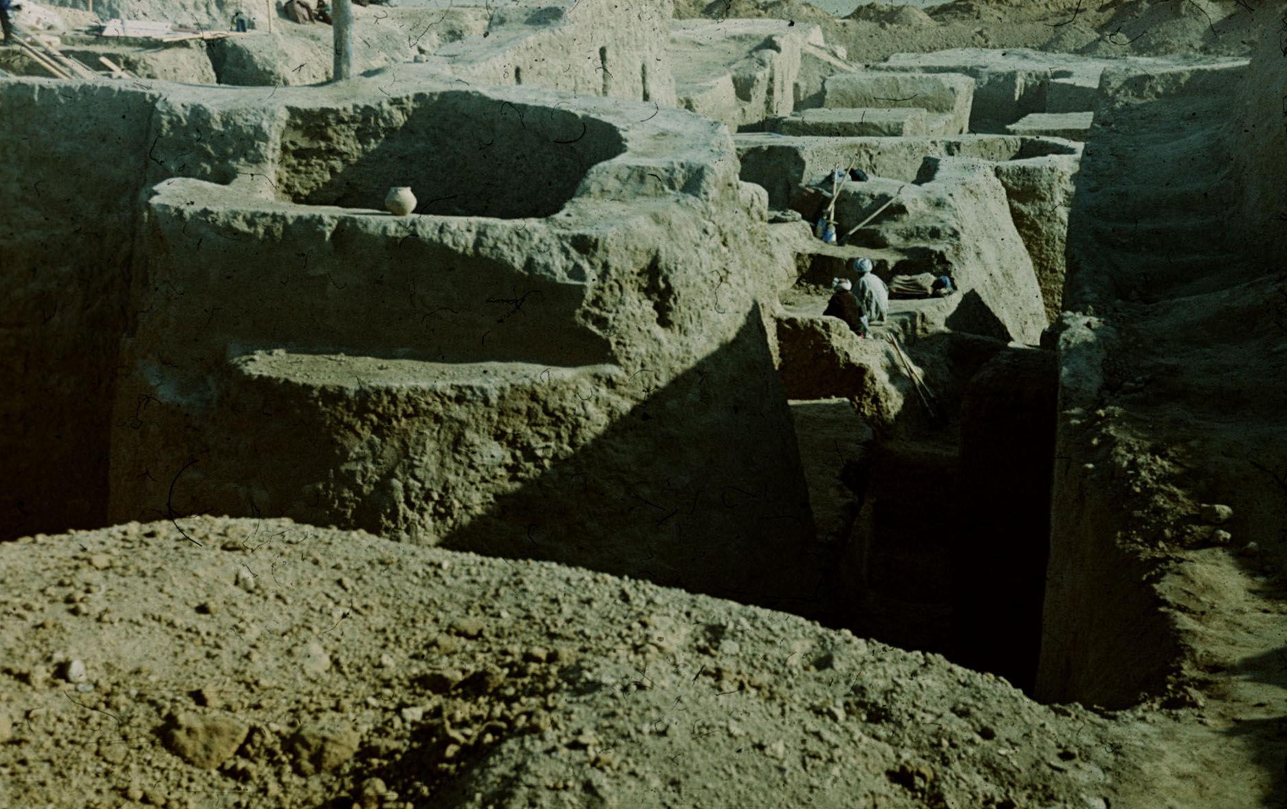 Раскопки древних городов Бактрии Советско-Афганской экспедицией