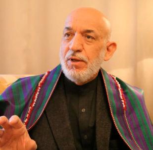 Экс-президент Афганистана Хамид Карзай