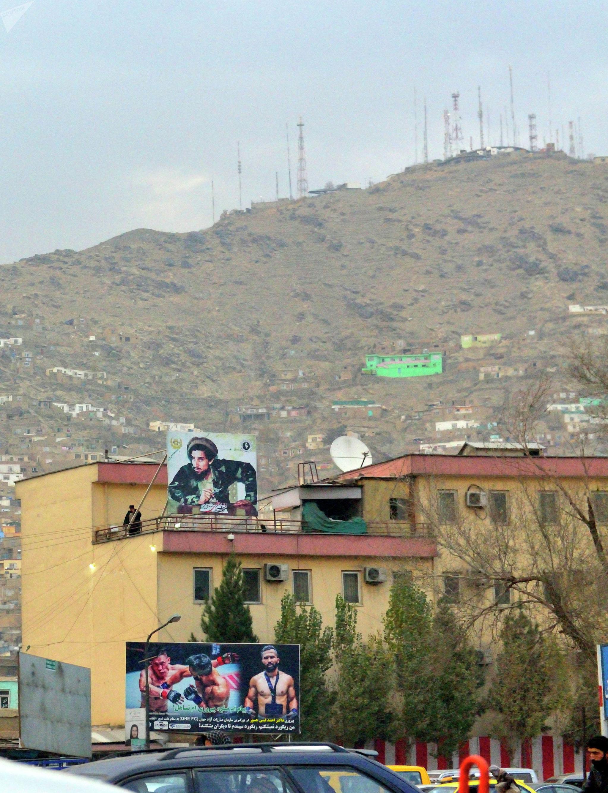 Национальный герой Ахмад шах Масуд и герои спорта всегда рядом. Кабул