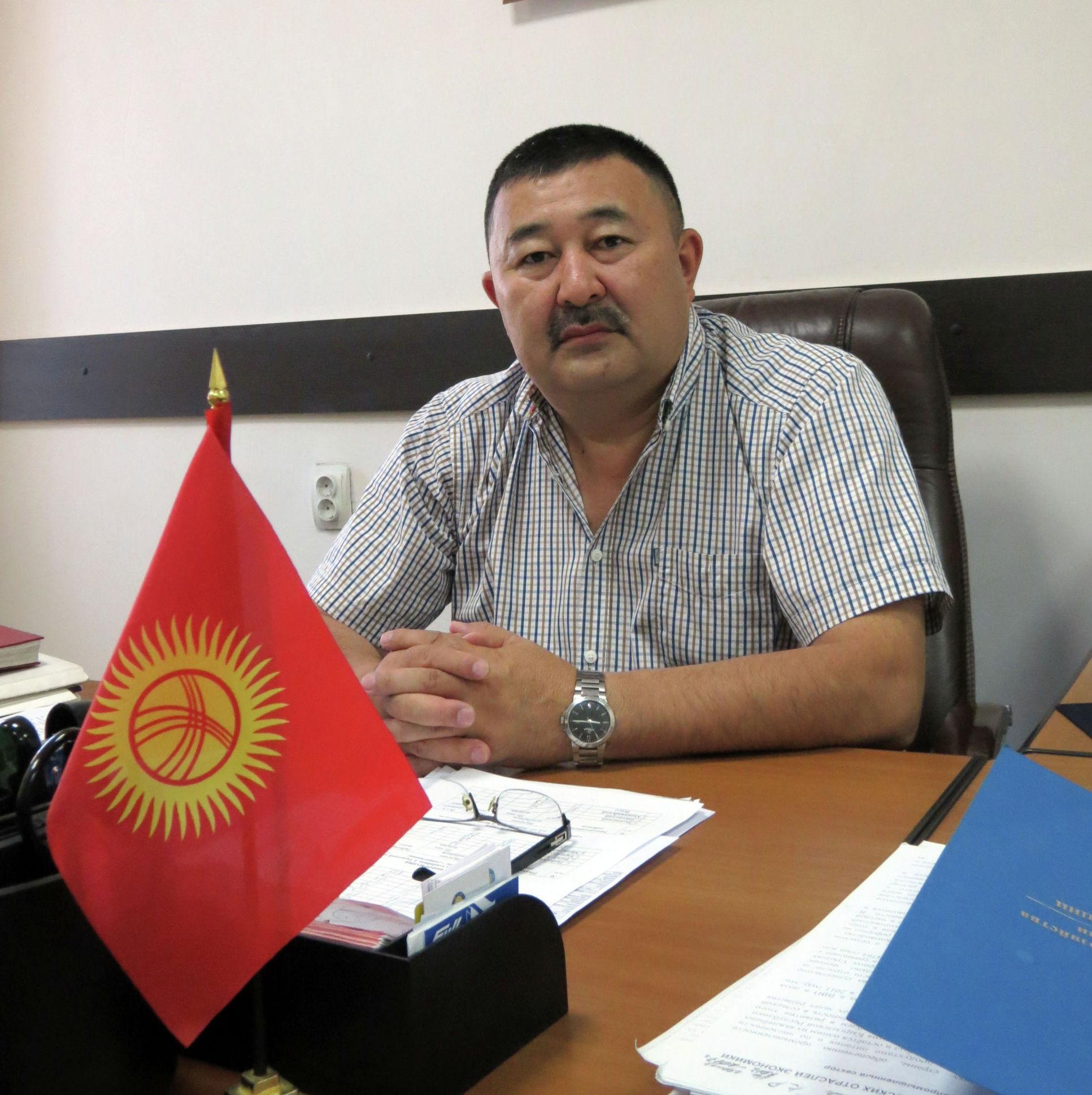 Потомок Торогелди баатыра, работающий в министерстве сельского хозяйства Нурлан Кожогулов