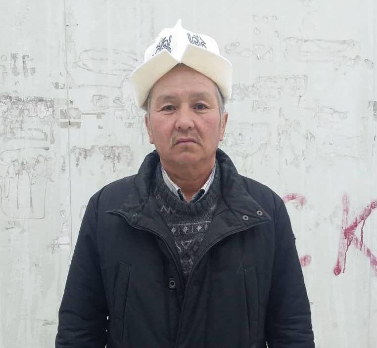 Потомок кыргызского поэта импровизатора, акына-письменника Молдо Кылыча Калыйбек Тобокелов