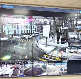 Центр мониторинга ГУОБДД МВД КР. Архивное фото