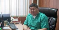 Заместитель директора по организационно-методической работе Бишкекского научного центра травматологии и ортопедии Бакытбек Исаков