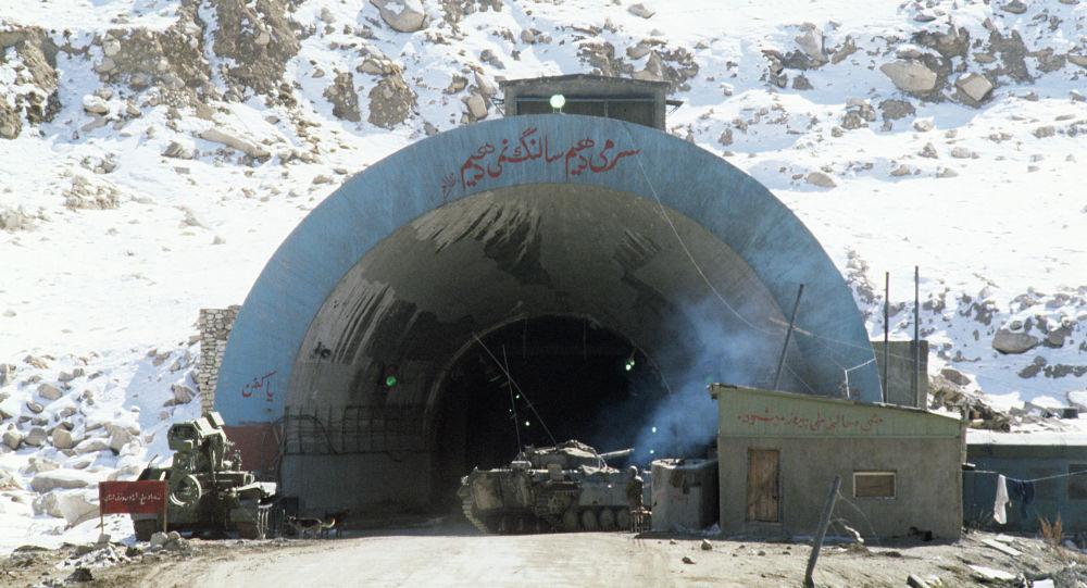 Тоннель Саланг в Афганистане