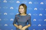 Журналист Жайнагүл Тазабекова. Архивдик сүрөт