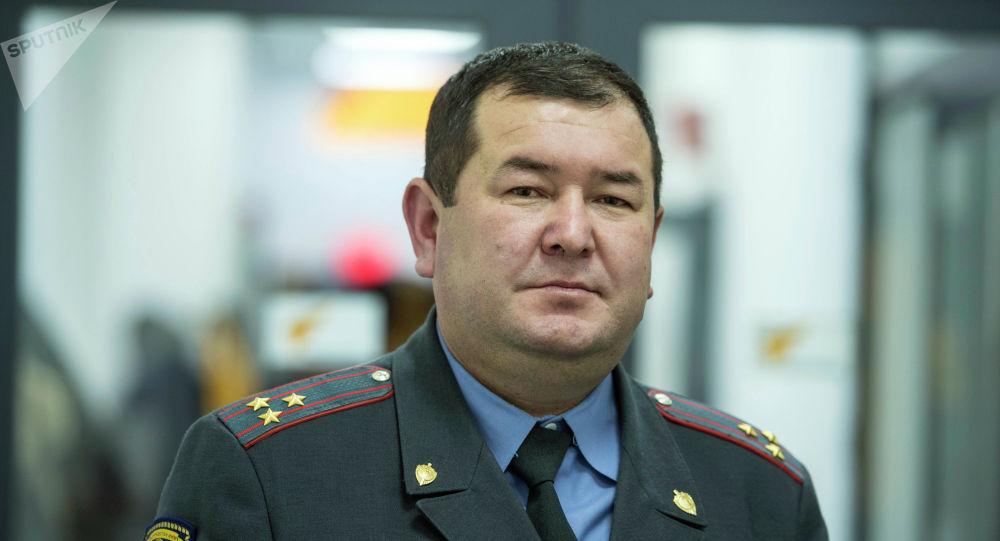 Начальник Академии Министерства внутренних дел Адылбек Бийбосунов