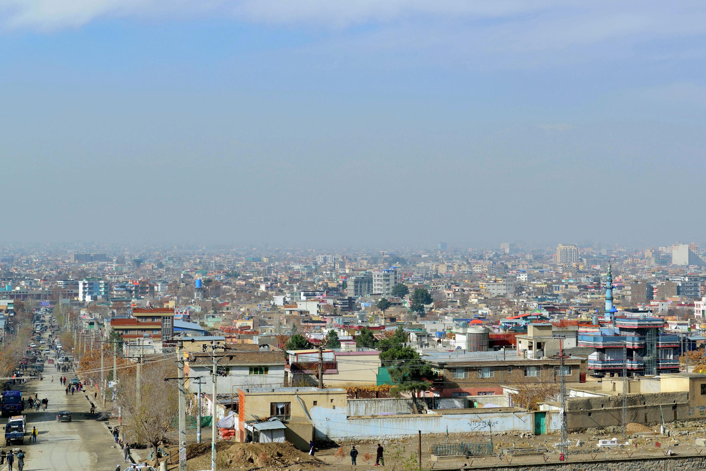 Утренний Кабул.