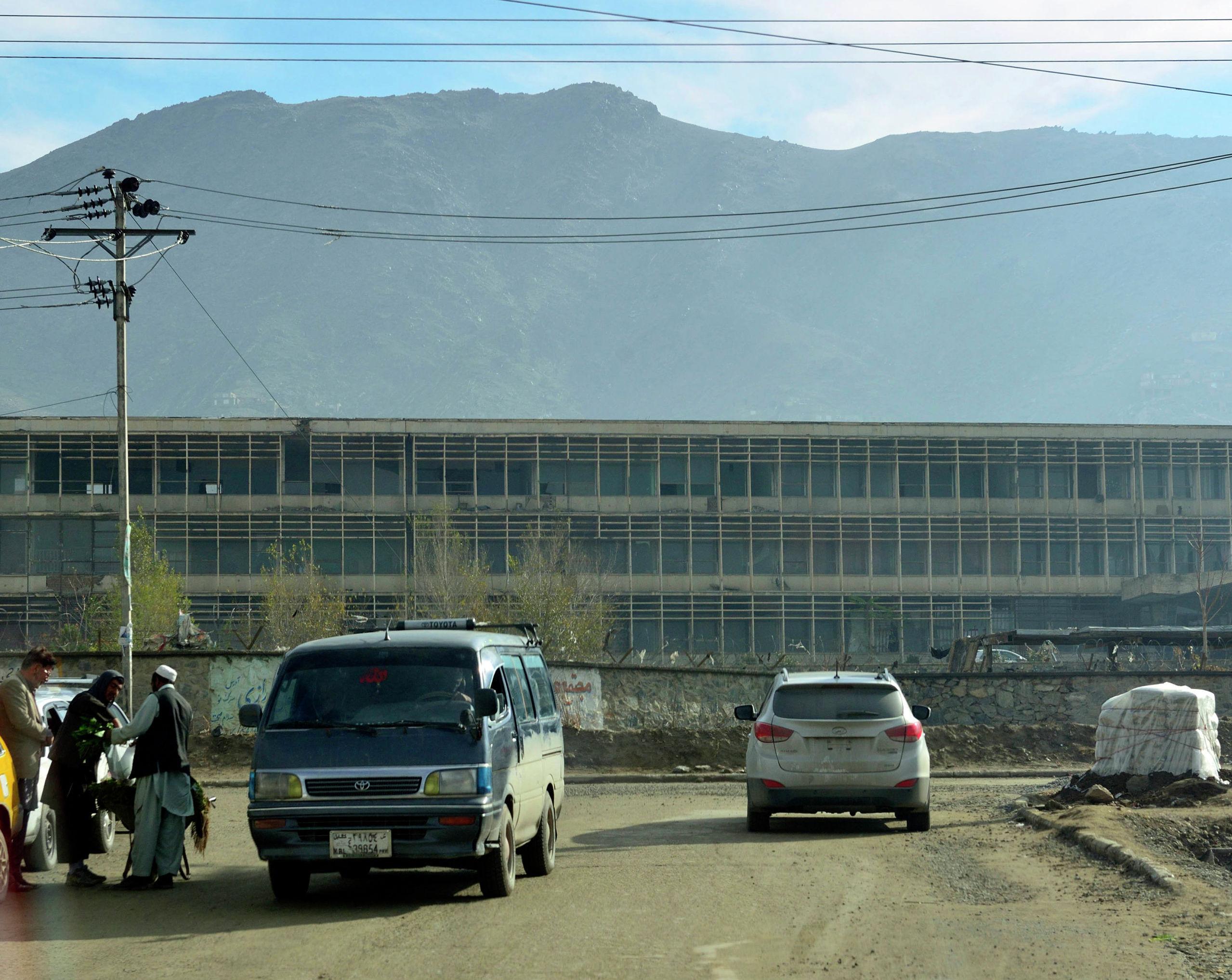 Главный корпус Кабульского политехнического института.