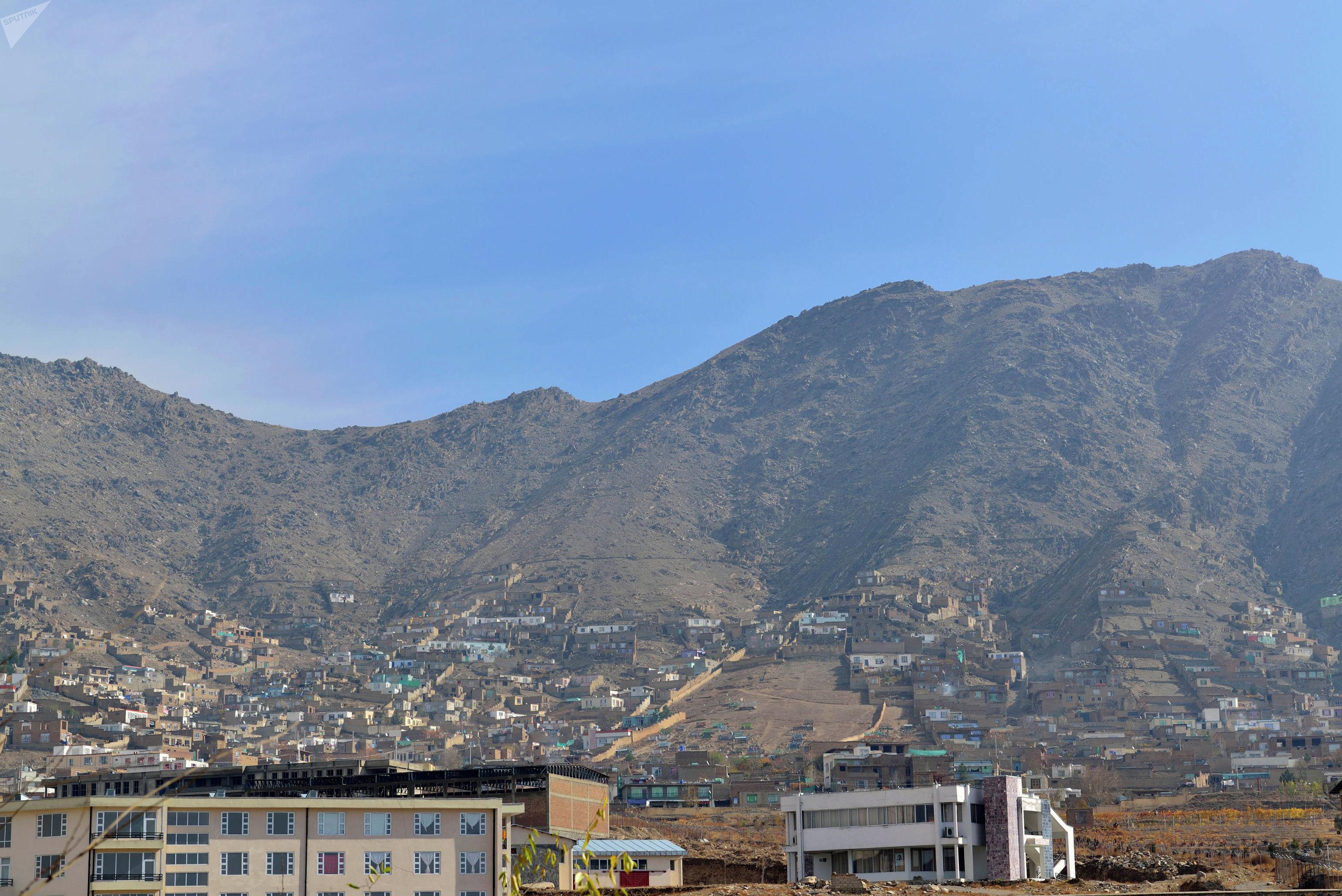 Современный Кабул.