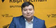 Бишкек шаарынын мектептерине электрондук каттоого туруу пилоттук долбоорунун маалыматтык системасын иштеп чыккан IT адиси Төлөгөн Аматов