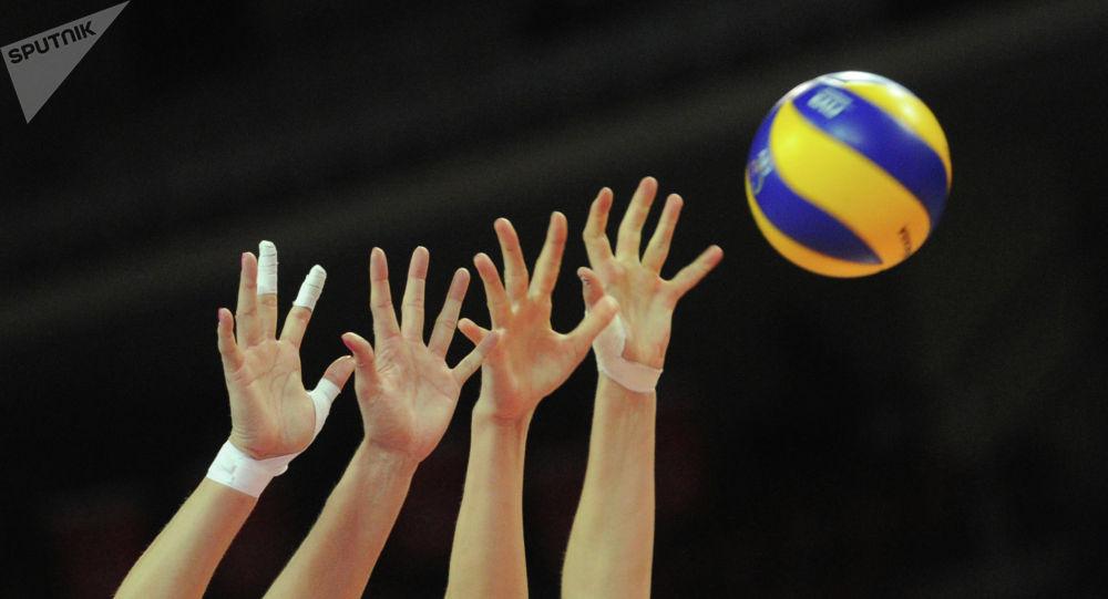 Волейболисты. Архивное фото
