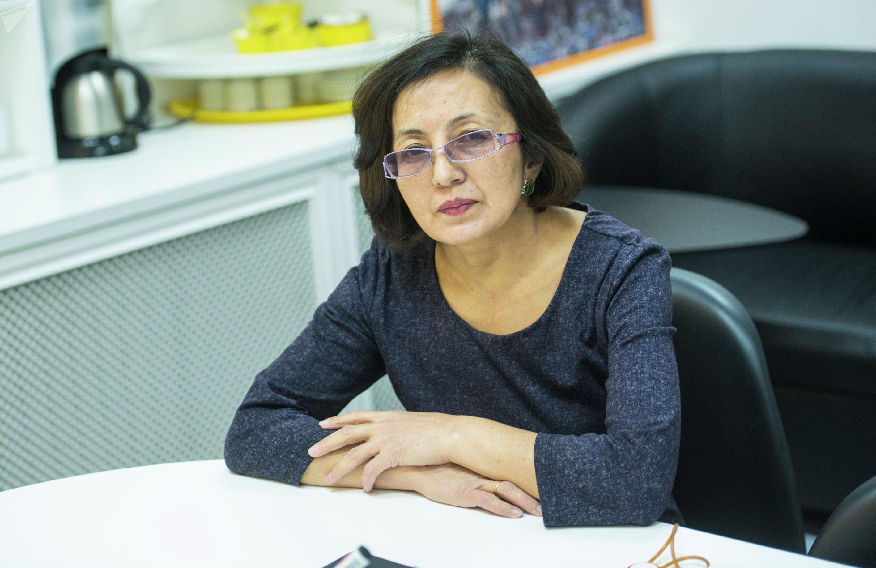 Педиатр Бишкекского ЦСМ №3 Дилара Искакова