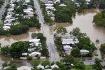 Аэрофотоснимок показывает паводковые воды в пригороде Гайд-парка, Таунсвилл, Северный Квинсленд. Австралия, 4 февраля 2019 года.