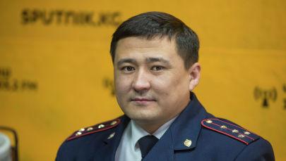 ЖКККББнын мониторинг борборунун жетекчисинин орун басары Медербек Шабданов