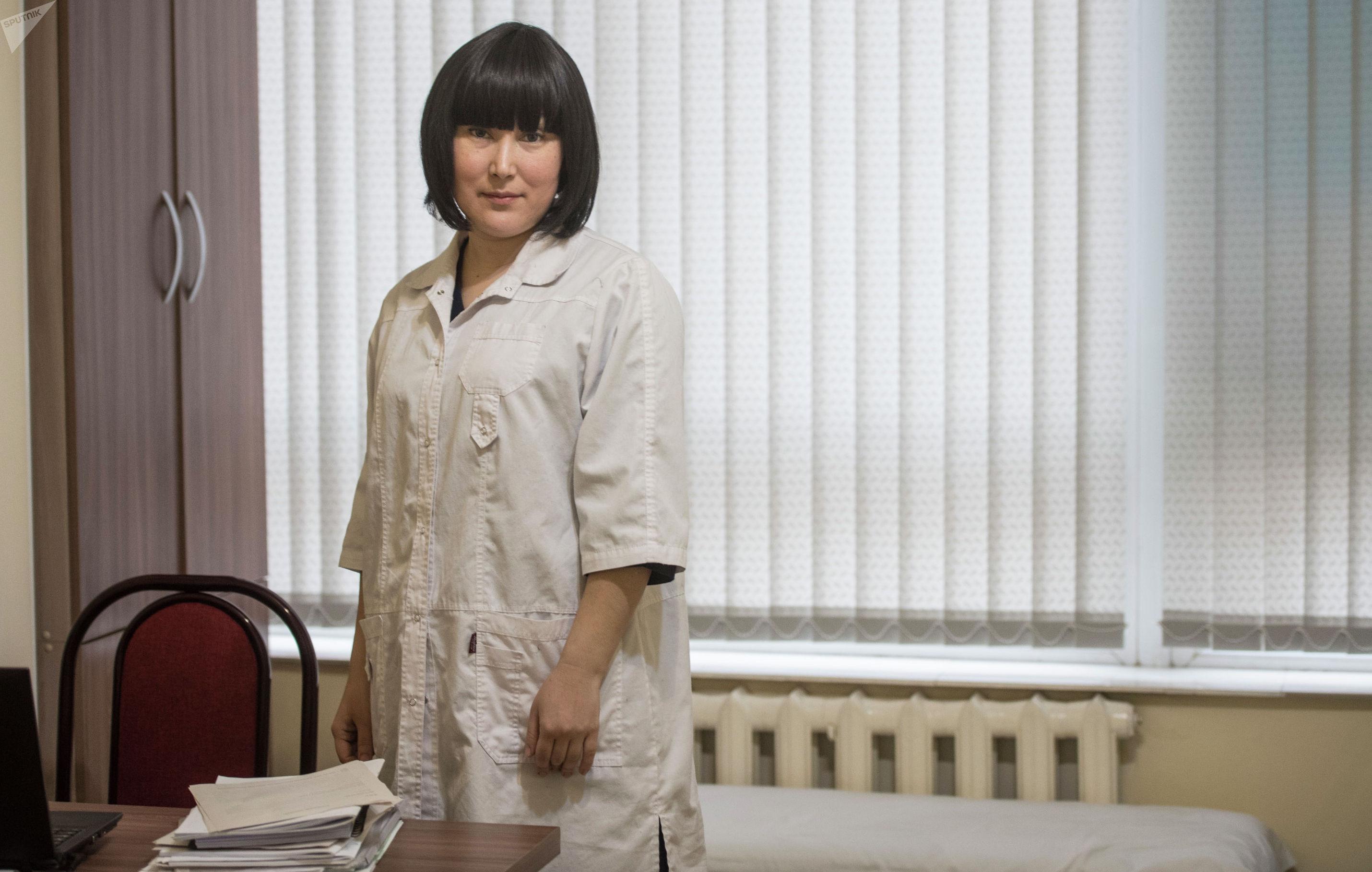 Врач-генетик, кандидат медицинских наук Бибигюль Карыпбаева