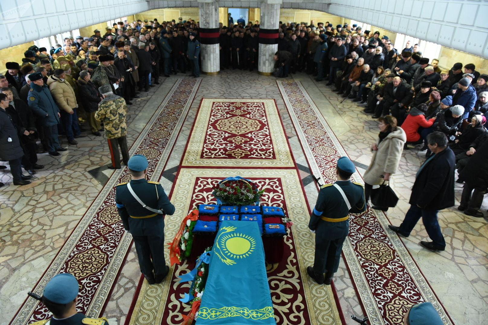 Похороны Бориса Керимбаева