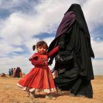 Лагерь беженцев в провинции Дейр-эз-Зор. Сирия