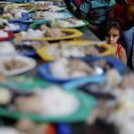 Приют для мигрантов на окраине Кукуты на колумбийско-венесуэльской границе