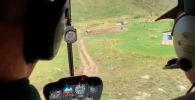 Пассажир вертолета изнутри снял крушение в Аргентине — жуткое видео
