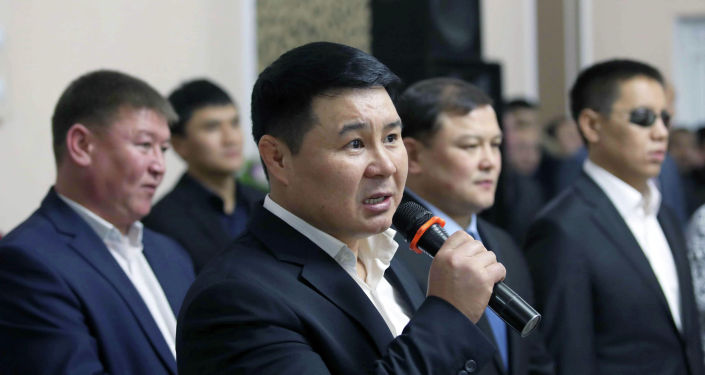 Депутат Жогорку Кенеша Тазабек Икрамов. Архивное фото