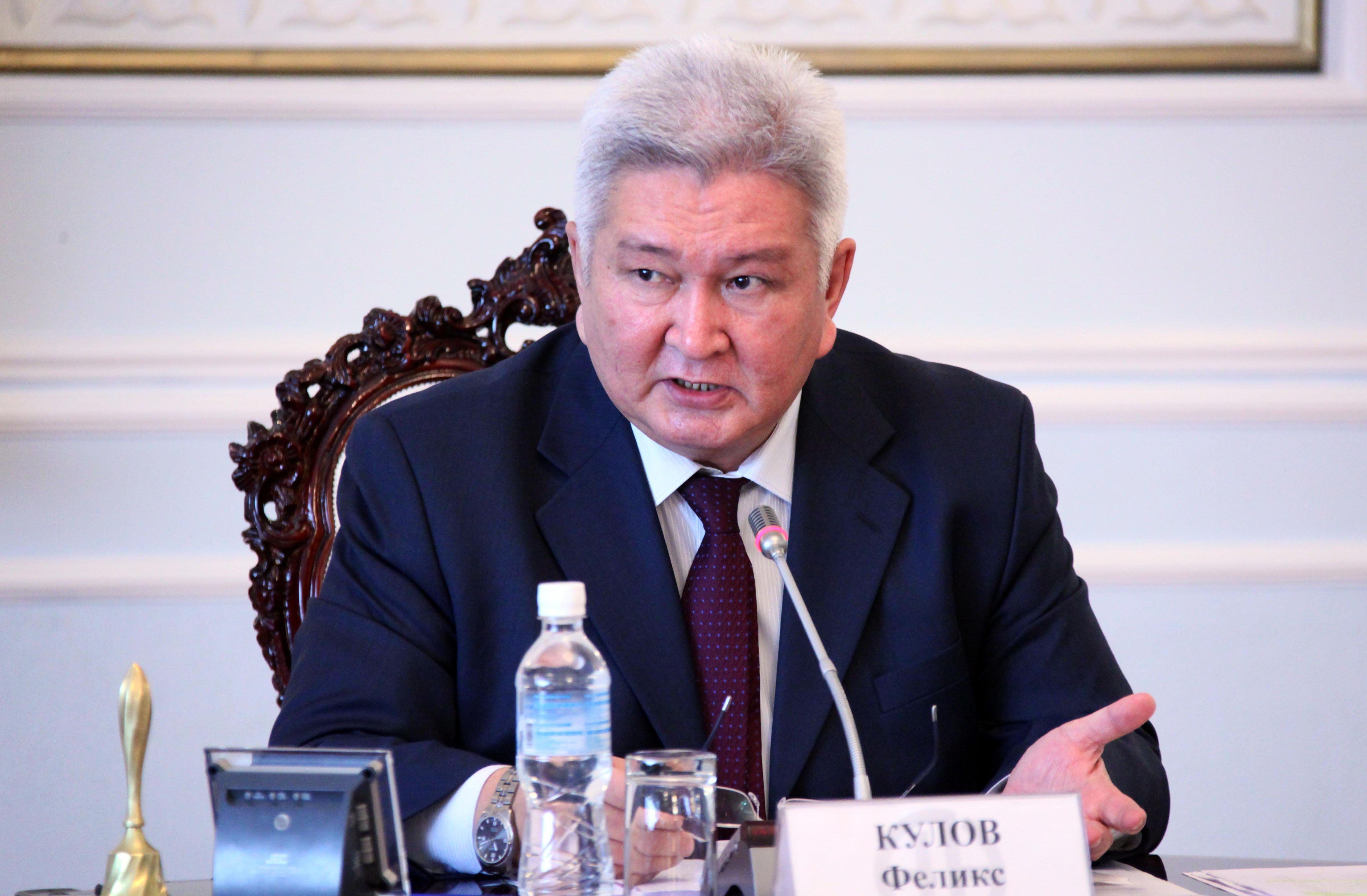 Председатель партии Ар-Намыс Феликс Шаршенбаевич Кулов. Архивное фото