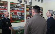 Открытие класса по учебной дисциплине История пограничных органов Военного института ВС КР