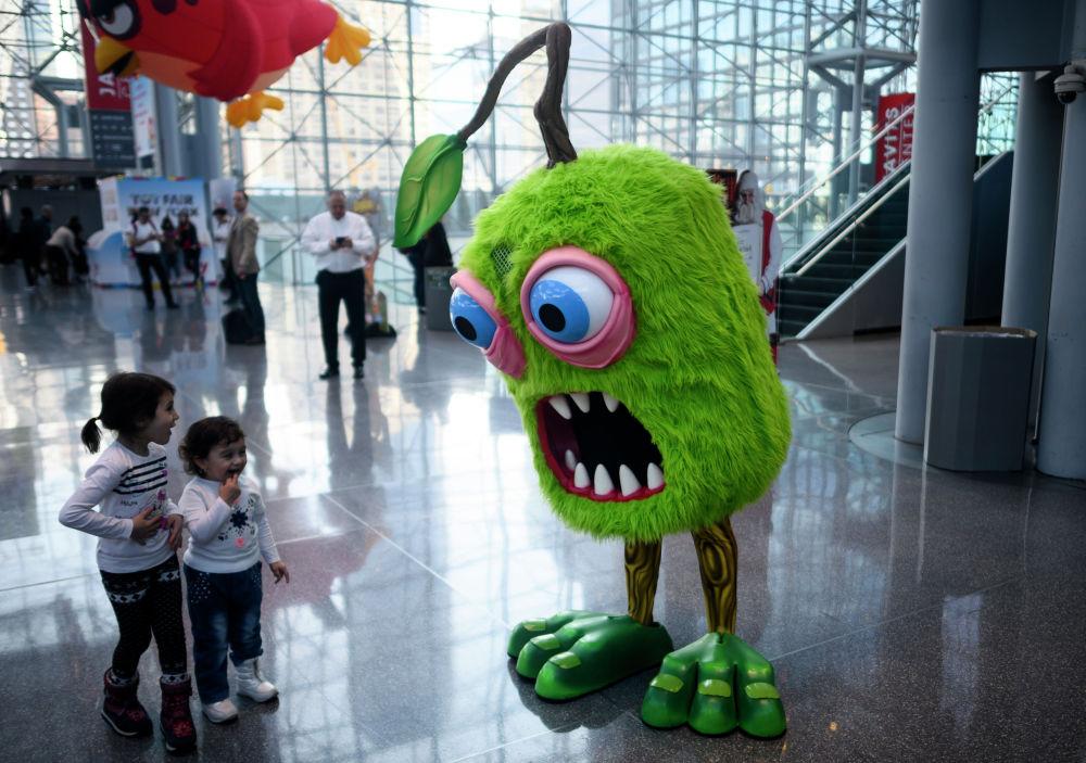 Ежегодная ярмарка игрушек в Нью-Йорке