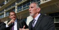 Крейг Коли(справа) который провел 39 лет в тюрьме за убийство, которого не совершал