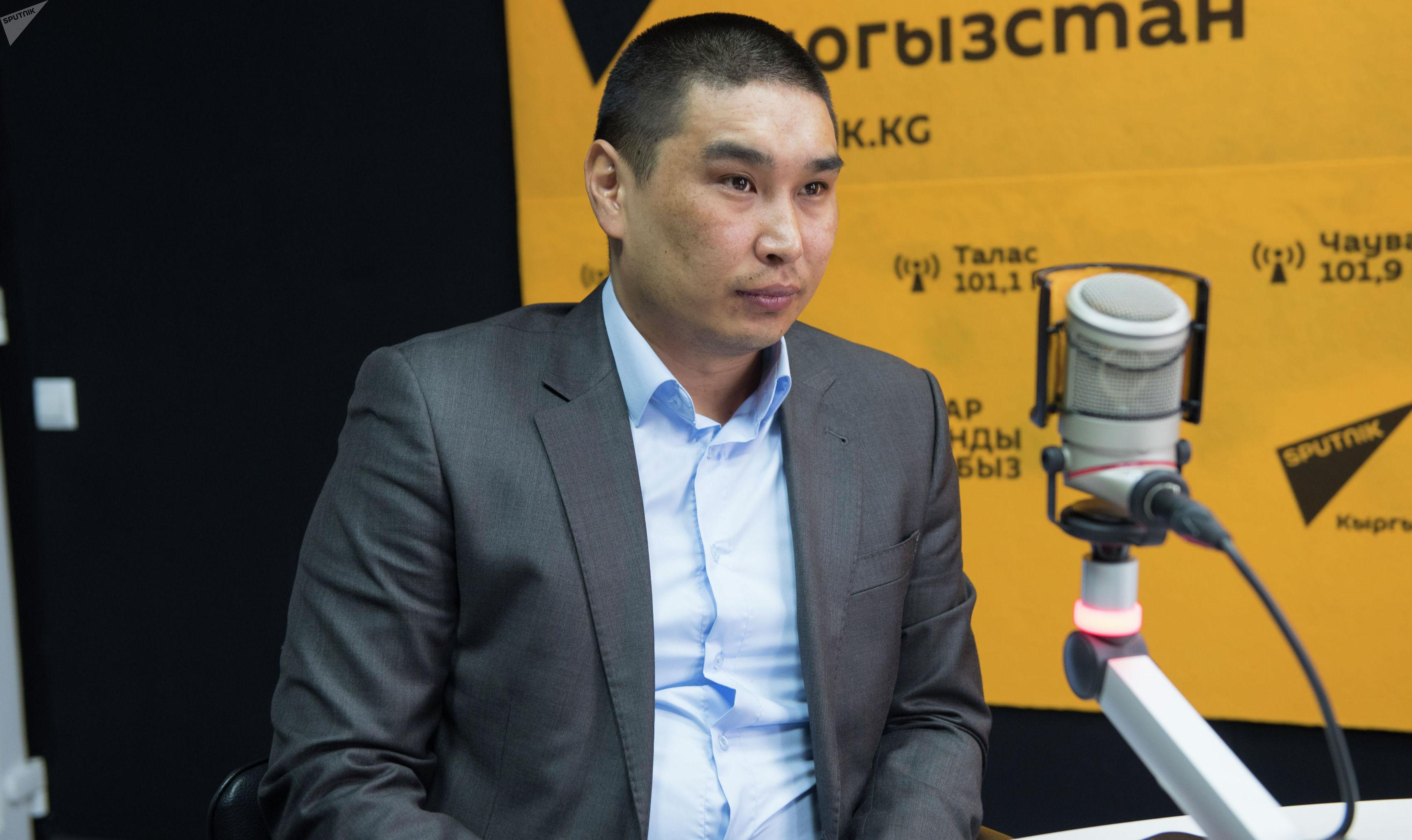 Председатель Государственного комитета национальной безопасности КР Ильяз Кадыркулов