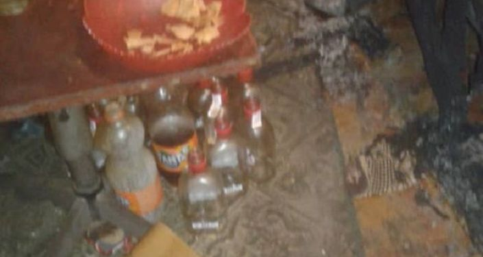 Мужчина погиб при пожаре в частном доме в Джалал-Абаде